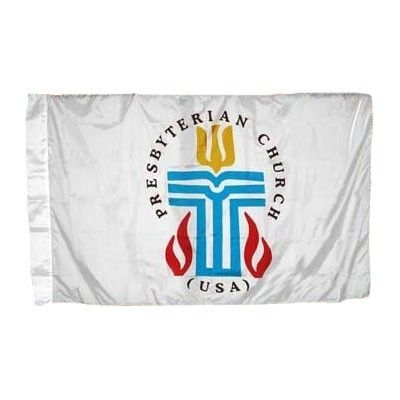 Presbyterian Flag w/ Pole Hem - 3' x 5' - Nylon