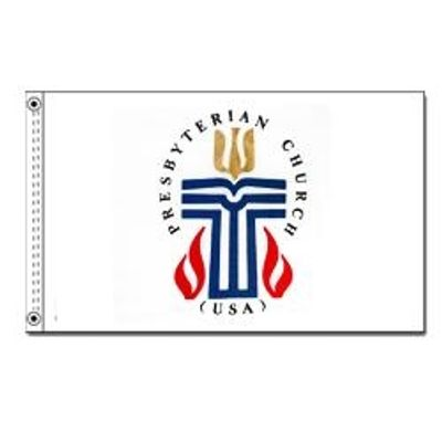 Presbyterian Flag w/ Brass Grommets - 3' x 5' - Nylon