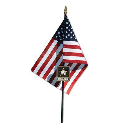 Go Army Veteran Memorial Grave Marker