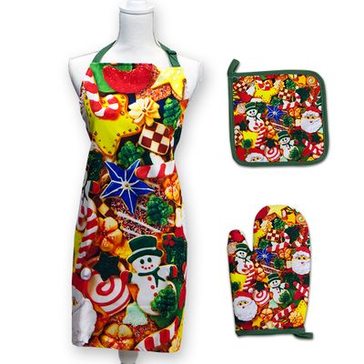 Cookie Cutouts Apron Set