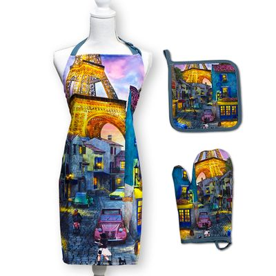 Eiffel Magic Apron Set