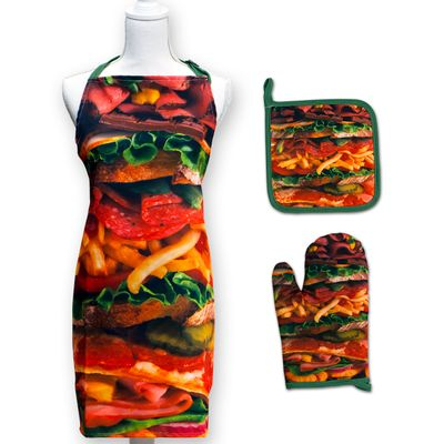 Snack Stack Apron Set