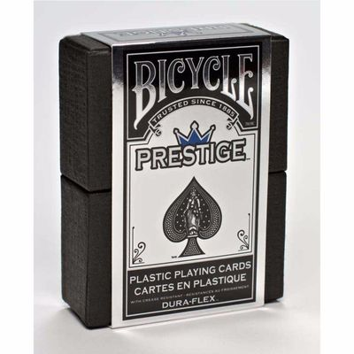 Prestige Plastic Bicycle Playing Cards Plastic Playing Cards