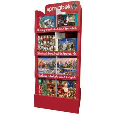 4-Shelf Display Holiday