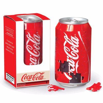 Coca-Cola 3-D Can Puzzle 40 Piece 3D Puzzle