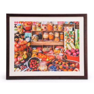 "1000 Piece Jigsaw Puzzle Wooden Frame 24"" x 30"""