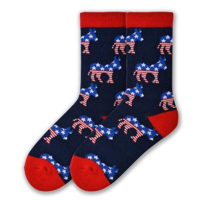 Women's Democratic Party Socks - Cotton Blend