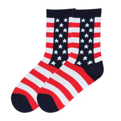 Women's Stars & Stripes Socks - Cotton Blend