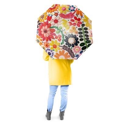 Jellybeans Full Size Umbrella w/ Auto Extend