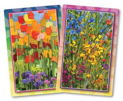 Flourishing Flowers Standard Index Playing Cards