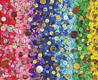 Back in Stock! Bunches of Buttons 1000 Piece Jigsaw Puzzle