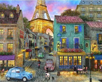Eiffel Magic 36 Piece Jigsaw Puzzle