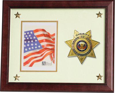 11X14 MAH SHERIFF MEDALLION FR