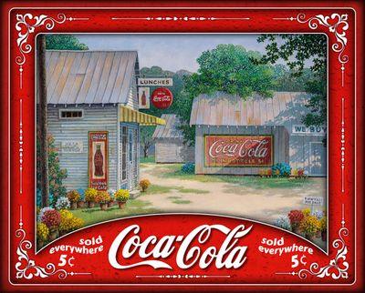 Springtime Serenity 500 Piece Coca Cola Puzzle