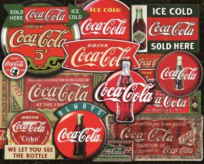 Coca-Cola Classic Signs 1000 Piece Puzzle