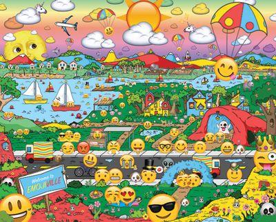 Emojiville 1000 Piece Jigsaw Puzzle