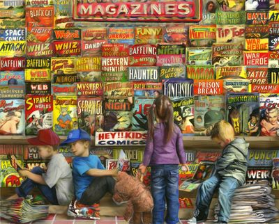 Comic Book Heaven 1000 Piece Puzzle