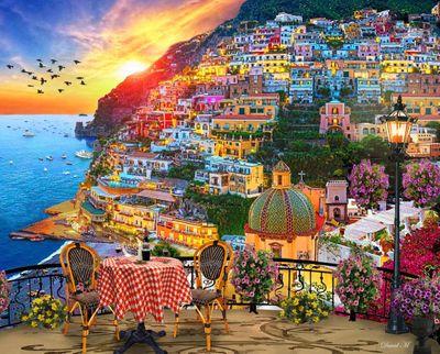 Positano Italy 1000 Piece Puzzle