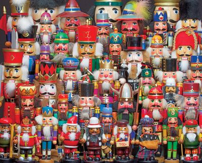 Nutcracker Collection 350 Piece Jigsaw Puzzle