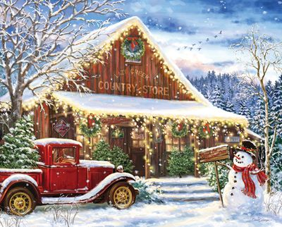 Lazy Creek Country Store 120 Piece Jigsaw Puzzle
