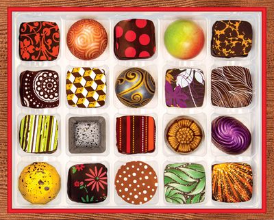 Chocolate Artistry 1000 Piece Jigsaw Puzzle