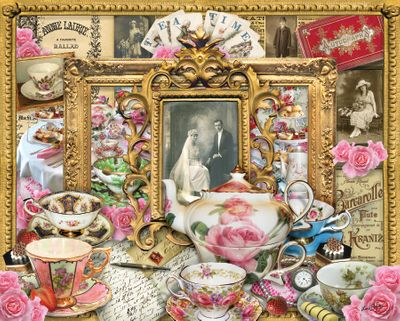 Tea for Two 1000 Piece Jigsaw Puzzle