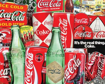 Back in Stock! Vintage Soda Cans 1000 Piece Jigsaw Puzzle