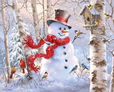 Winter Friends 1000 Piece Jigsaw Puzzle