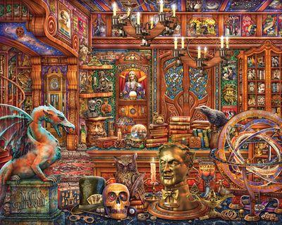 Magic Emporium 500 Piece Puzzle