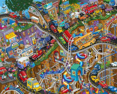 *Out of Stock* Getting Away 1000 Piece Jigsaw Puzzle