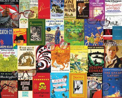 Nostalgic Novels 1000 Piece Jigsaw Puzzle