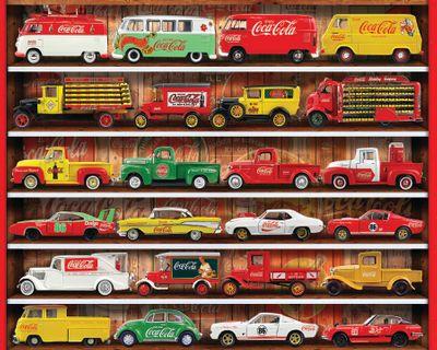 Coca-Cola Cars 1000 Piece Jigsaw Puzzle