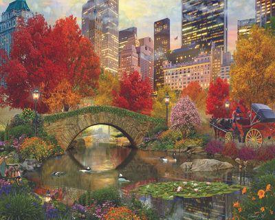 Central Park Paradise 1500 Piece Jigsaw Puzzle