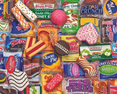 Snack Treats 2000 Piece Jigsaw Puzzle