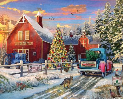 Red Barn Farms 1000 Jigsaw