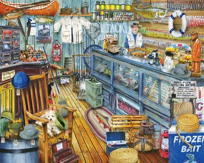 The Bait Shop 1000 Piece Jigsaw Puzzle