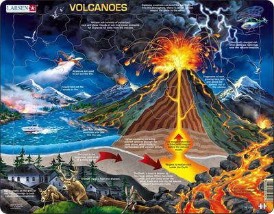 Volcanoes 70 Piece Children's Jigsaw Puzzles