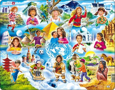 Children of the World 15 Piece Children's Jigsaw Puzzle