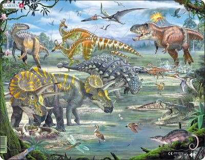 Dinosaur 65 Piece Children's Jigsaw Puzzle
