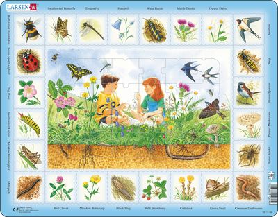 Field Science 48 Piece Children's Educational Jigsaw Puzzle