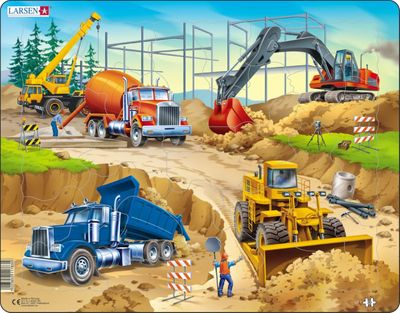 Construction 30 Piece Children's Jigsaw Puzzle