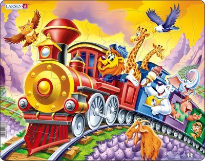 Circus Train Children's Educational 30 Piece Jigsaw Puzzle