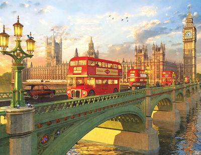Westminster Bridge 500 Piece Jigsaw Puzzle