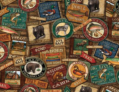 Lodge Signs 500 Piece Puzzle
