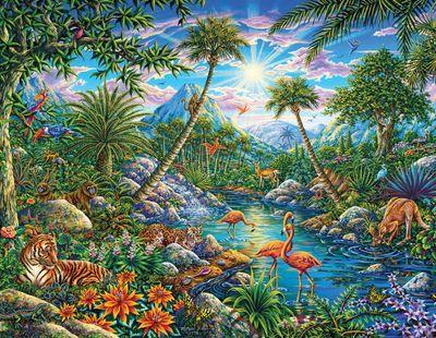 Discovery Island 100 Piece Jigsaw Puzzle