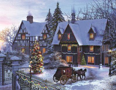 Home for Christmas 1500 Piece Jigsaw