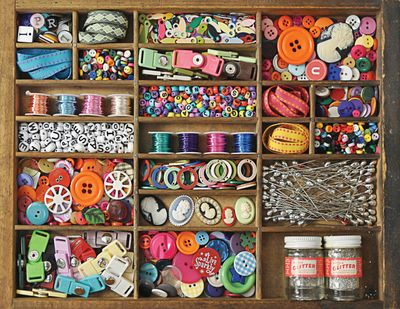 The Sewing Box 500 Piece Jigsaw Puzzle