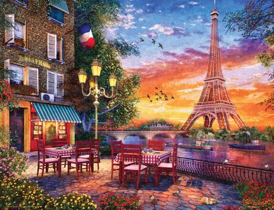 Paris Romance 500 Piece Jigsaw Puzzle