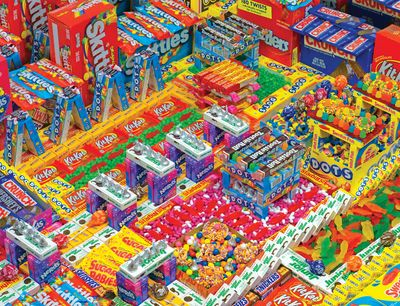 Candyscape 500 Piece Jigsaw Puzzle