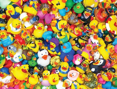 Back in Stock! Funny Duckies 400 Piece Jigsaw Puzzle